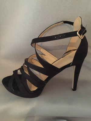 H&M High Heel Sandal black imitation leather