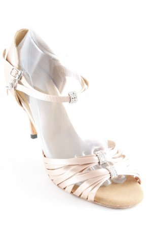 High Heel Sandaletten nude Elegant