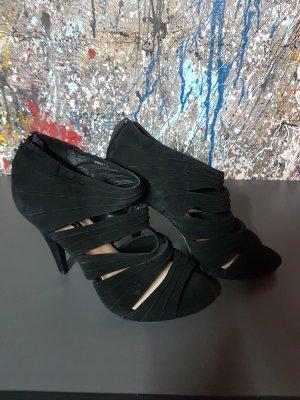 High Heel Sandaletten schwarz gr. 38