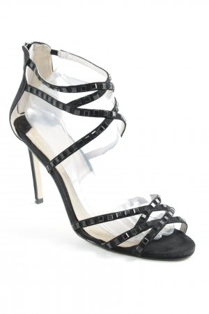 High Heel Sandal black party style