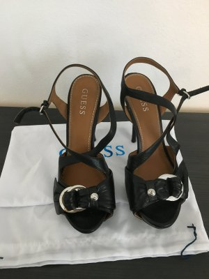 Guess High-Heeled Sandals black