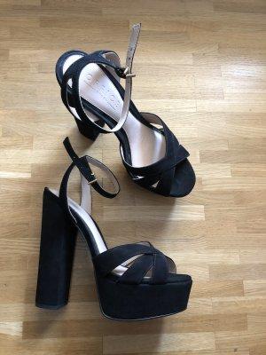 High Heel schwarz Office Shoes