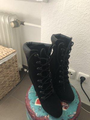 Just Fab High Heel Boots black
