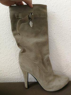 Patrizia Pepe High Heel Boots beige