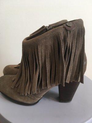 Replay Scarpina di lana grigio scuro-grigio