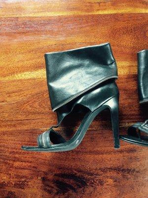 high heel Stiefelette Sandalette Jessica Simpson 36 schwarz
