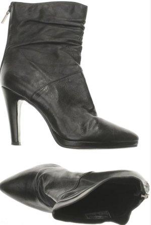 High Heel Stiefelette schwarz  Gr. 37 Leder 5Th Avenue