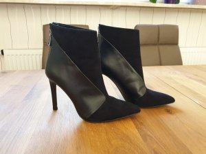 High Heel Stiefelette von Zara schwsrz Gr. 38