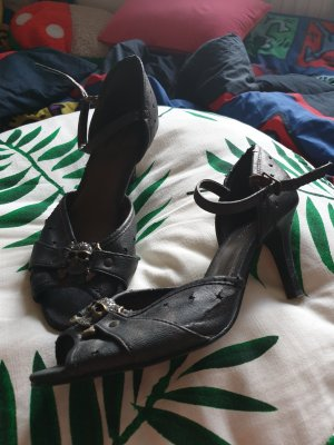 Graceland Sandalo con cinturino antracite Finta pelle
