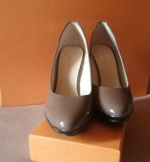 Deichmann High Heels grey brown