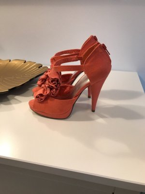 H&M High Heel Sandal bright red