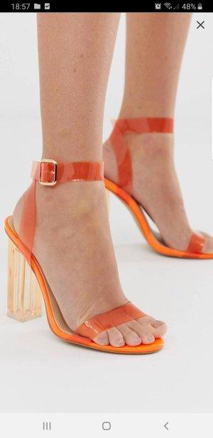 Zalando Strapped High-Heeled Sandals multicolored
