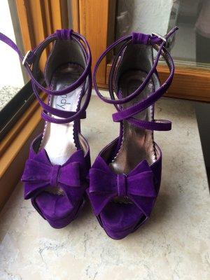 High Heel Sandal dark violet