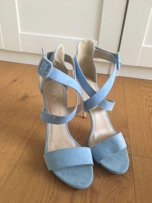 Sandale d'extérieur bleu clair