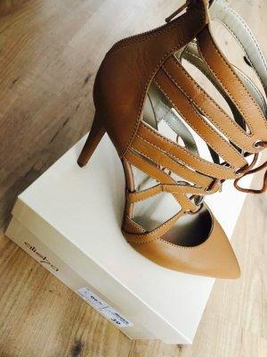 Alisha Tacones altos marrón arena