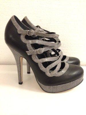 High Heels aus echtem Leder von Asos, Gr. 38