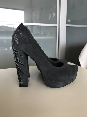 High Heels aus Wildleder