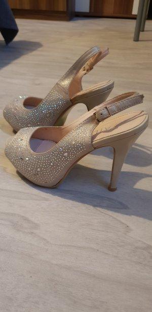 Chaussures crème-blanc cassé