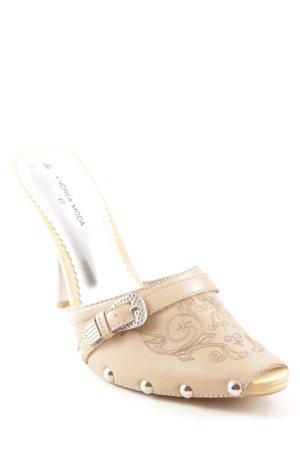 High Heels beige Casual-Look