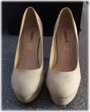 High Heels beige NEU von Jumex