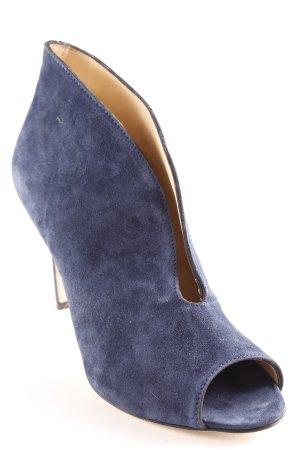 High Heels blau extravaganter Stil