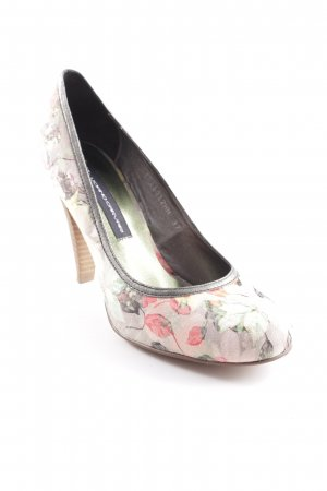 High Heels Blumenmuster Romantik-Look