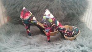 High heels Blumenprint