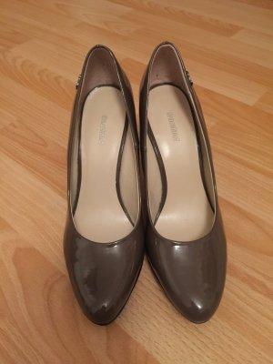 High Heels braun/schwarz
