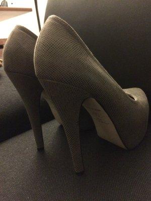 High Heels (braun, Wildlederoptik)