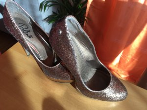High Heels Bronze Full Glitter