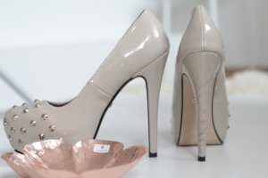 High Heels, Buffalo, Nieten metallic