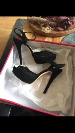High Heels Buffalo schwarz