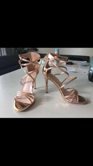 High Heel Sandal rose-gold-coloured