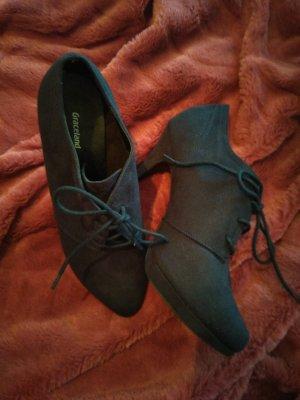 Graceland Chaussure à talons carrés bleu foncé
