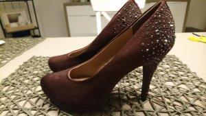 High Heels dunkelrot | NEU