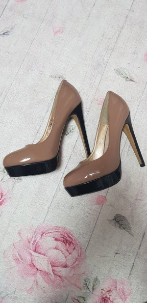 Catwalk High Heels black-brown