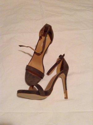 High Heels edles grün/Gold
