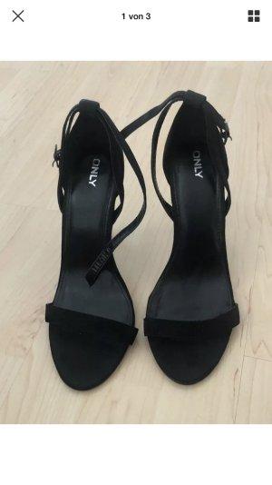 Only Sandalo con cinturino nero