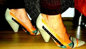 Firetrap Pumps multicolored