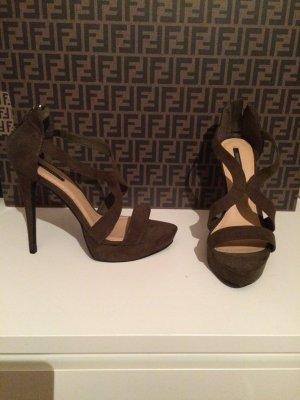High heels/ forever21/ Khaki/