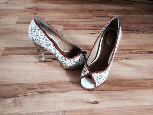 High Heels geblümt, Größe 38, selten getragen, von der Marke Only Pink