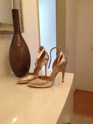 High heels gold ganz neu