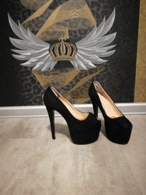 High heels gr. 36 von nly Schwarz