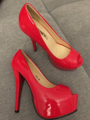 High heels Gr 38 jumex rot