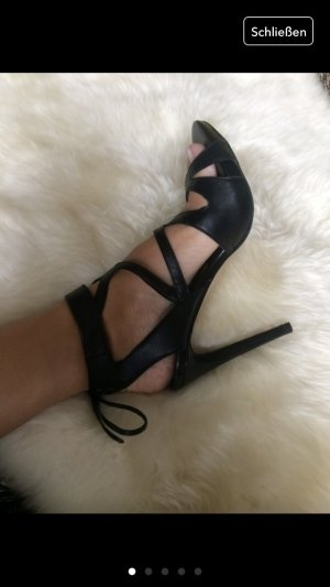 High Heels Gr. 38 schwarz Stilettos