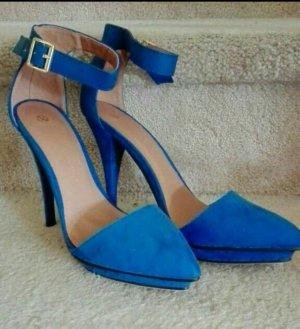 High Heels, Gr. 39 blau NEU