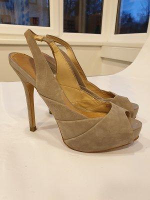 High Heels grau von Zara