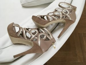 Guess Tacones altos camel-color oro Cuero