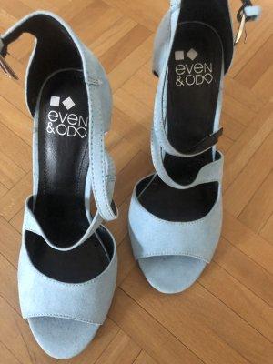 Even & Odd High Heels azure