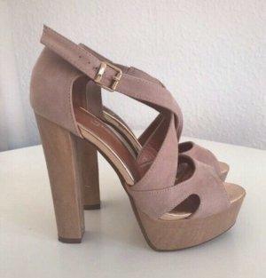 Kayla High Heel Sandal rose-gold-coloured-dusky pink